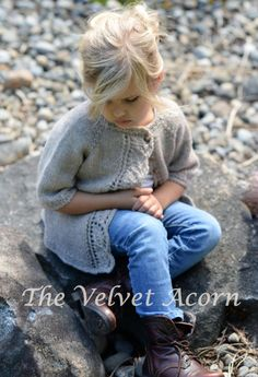 TRICOT PATTERN-The Cove Cardigan (2/3, 4/5, 6/7, 8/9, 10/11 ans)