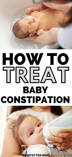 How to Relieve Baby's Constipation Naturally. Newborn tips and tricks Newborn Constipation, Colic Baby, Constipation Relief, Constipation Remedies, Relieve Constipation, Baby Tips, Baby Hacks, Constipated Baby