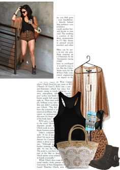 """Vanessa Hudgens Style"" by andymallette ❤ liked on Polyvore"