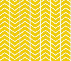 Thinking of getting this for curtains....    chevron stripe in gold fabric by ninaribena on Spoonflower - custom fabric