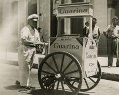 1946 Havana Guarina Ice Cream Street Seller