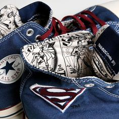 Converse Chuck Taylor All Star Hi x DC Comics x Superman Pack b8ea8bff6