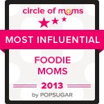 Most Influential Foodie Moms - 2013