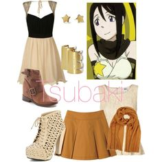 """Soul Eater - Tsubaki"" by roishey on Polyvore"