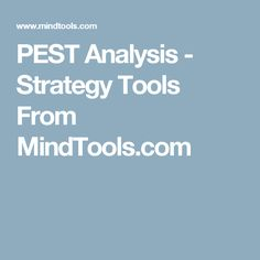 Pest Analysis Template HttpWwwBusinessballsCom