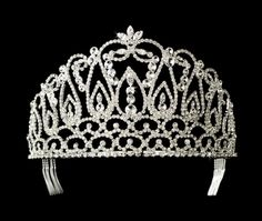 Grand majestic royal crown wedding tiara - SALE!!