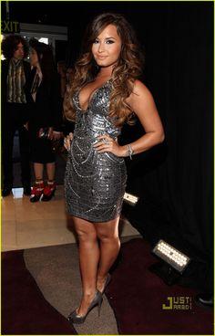 Demi Lovato -- I like her ombre hair color     @Jessica Snyder Coronel