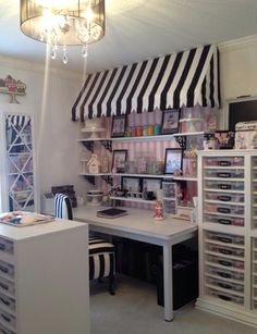 Cookie room for decorating & client consults