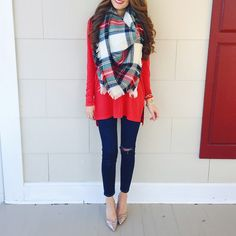 blanket scarf is on sale for Cyber Monday!