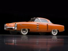 1955 Lincoln Indianapolis Concept Car Visit http://holmestuttlelincoln.net/