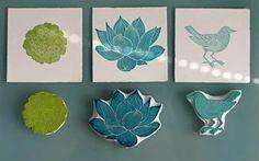DIY  Handmade Block Prints