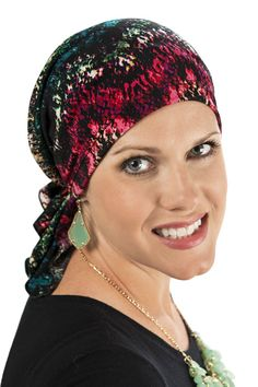 Slip On Pre-Tied Head Scarf  Scarves for Cancer Patients 02427284b11