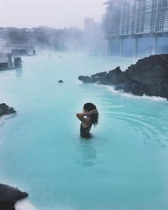 """""""Blue Lagoon is an oasis of relaxation """" @marylineleoville #BlueLagoonIceland #Iceland"""