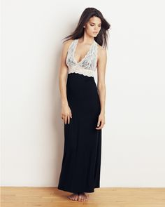 scalloped back gown - gorgeous