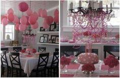 Decorazioni rosa