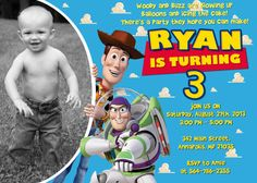 Toy Story Birthday Party Invitation - Printable File on Etsy, $8.99
