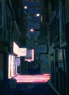 alley stroll by mobul