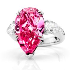 Pink-Diamond-Jewelry 60 Magnificent & Breathtaking Colored Stone Engagement…