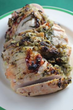 One Hour Herb Crusted Turkey Breast