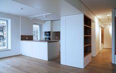 Moderne Kuche Nach Umbau Mehrfamilienhaus M3 Architekten Architekt Zurich Zuerich Moderne Kuche Wohnen Haus