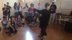 72 Year Old Lady Dances Like She's A Kid