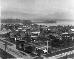 View from the original Hotel Vancouver, 1888 | RainbowNowOpen | vancouver