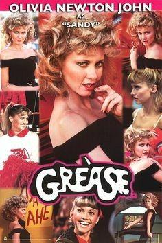 Grease the Movie Photo: John Travolta as Danny Zuko Grease 1978, Grease Movie, Grease 2, Grease Theme, Olivia Newton John Movies, Olivia Newton John Grease, Grease Sandy, John Travolta, My Fair Lady