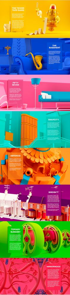 Behance : Showcase and discover creative work on the world's leading online platform for creative industries. Fond Design, Graphisches Design, Layout Design, Creative Design, Webdesign Inspiration, Web Inspiration, Graphic Design Inspiration, Typography Inspiration, Cinema 4d