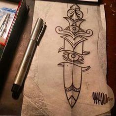 adaga tattoo
