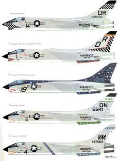 Vought F-8 Crusader : vought, crusader, Planes, Vought, Crusader