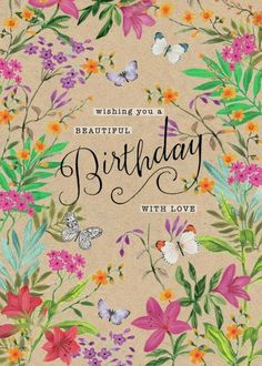 Leading Illustration & Publishing Agency based in London, New York & Marbella. Happy Birthday Wishes Cards, Happy Birthday Celebration, Birthday Wishes For Friend, Happy Wishes, Happy Birthday Sister, Happy Birthday Images, Birthday Cards, Art Birthday, Birthday Love