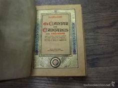 1347.- CORCHO- EL CANTAR DE LOS CANTARES DE SALOMON, FR LUIS DE LEON-SANT FELIU DE GUIXOLS-VIADER