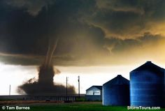 One of many tornados we intercepted on June 4, 2015 near Simla Colorado.