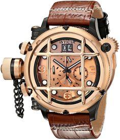Invicta Men's 17331 Russian Diver Analog Display Swiss Quartz Brown Watch