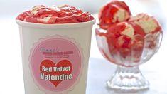 Red Velvet Homemade Ice Cream (No Machine) for Valentine's Day, Gemma Stafford from Bigger Bolder Baking