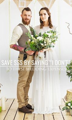 """Save Money By Saying """"I DON'T"""" To These Wedding Expenses ❤ Wedding expenses have…"""