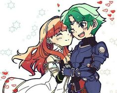 Fire Emblem Echoes Shadows of Valentia - Celica & Alm