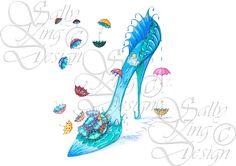 April Showers - Rarefootage Shoe Designs
