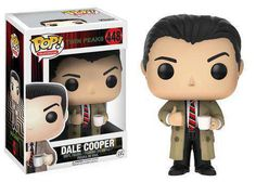 Twin Peaks POP. Dale Cooper Vinyl Figure Funko POP. Television #448 Twin Peaks