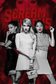 I usually don't do Scary Slasher but I am loving SCREAM QUEENS! I love mysteries. It's a bit much but funny too.
