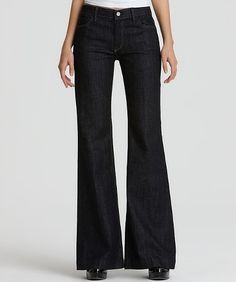 7 For All Mankind Ginger Trouser/Wide Leg Jeans 30