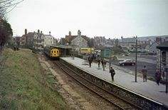 Swan age station when it closed in 1972. It has come a long way, and now trains from the main line at Warhead are due to start again this year!