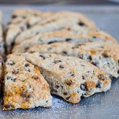 Slimmed Down Chocolate Chip Scones