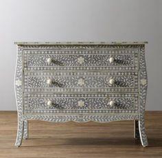 $1232 Amira Inlay Dresser