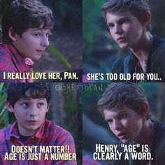 Read Chapter Ten-One of Them from the story The Cheshire Cat (A OUAT love story) by (Lone Wolf) with 660 reads. Once Upon A Time Peter Pan, Once Upon A Time Funny, Once Up A Time, Peter Pan Ouat, Robbie Kay Peter Pan, Peter Pans, Funny Quotes, Funny Memes, Jokes