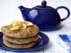 tortitas de manzana (veganas)