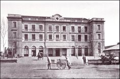 Antigua estación de Aragón. 1908