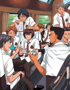 The whole Hyotei team