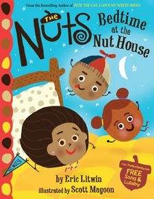 Eric Litwin Goes 'Nuts' in New Series - if you love the Pete the Cat Series, you've got to check this out!