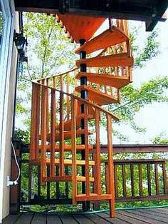 Wooden outdoor circular stairs   Wood Spiral Stairs Designs Idea outdoor  wood spiral stairs   232Maintenance free decks add value to a home even though the initial  . Exterior Wood Spiral Staircase. Home Design Ideas